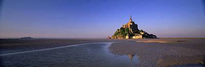 Mont Saint Michel Photograph - Mont Saint Michel, Normandy, France by Panoramic Images