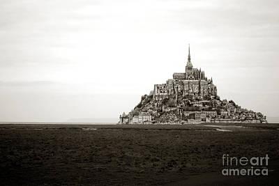Mont Saint Michel Photograph - Mont Saint Michel by Olivier Le Queinec