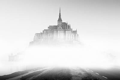 Photograph - Mont Saint-michel by Sebastian Musial