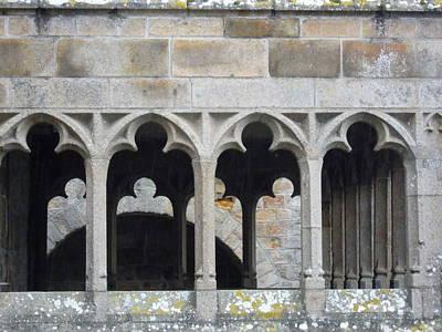 Photograph - Mont St Michel Abbey by Ellen Meakin
