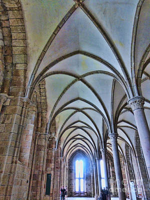 Photograph - Mont St. Michel Arches by Crystal Nederman