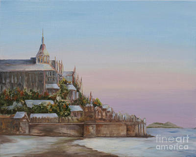 Painting - Mont St. Michel by Diane Fujimoto