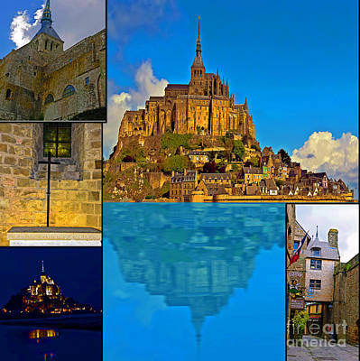 Photograph - Mont St Michel Pilgrimage by Elvis Vaughn