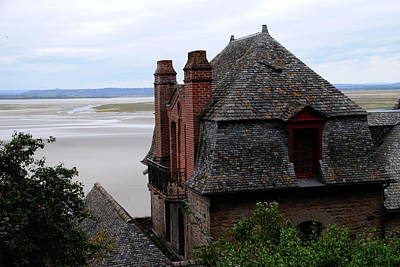 Photograph - Mont St. Michel View by Jacqueline M Lewis