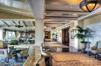 Photograph - Montage Laguna Beach Is A Luxury Resort by David Zanzinger