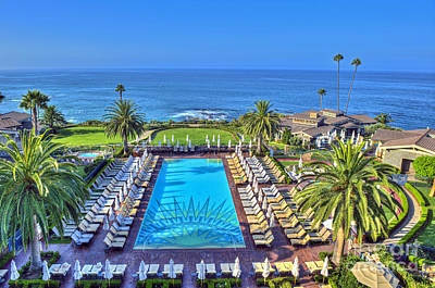 Photograph - Montage Resort Hotel Laguna Ca by David Zanzinger