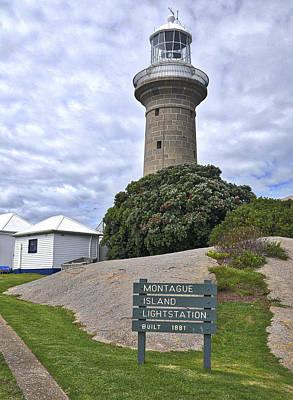 Montague Island Lighthouse - Australia Art Print by Steven Ralser