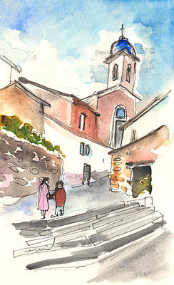 Painting - Montalcino 01 by Miki De Goodaboom