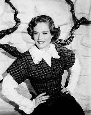 1950s Movies Photograph - Montana, Alexis Smith, 1950 by Everett