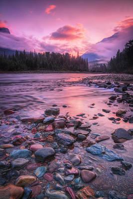 Photograph - Montana Daybreak by Jaki Miller