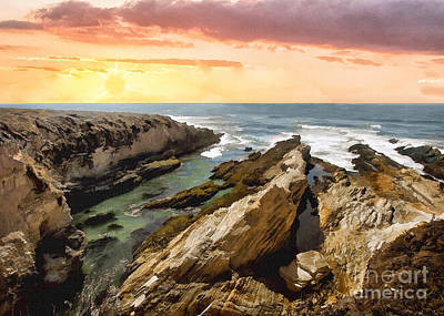 Photograph - Montana De Oro Shore II by Sharon Foster