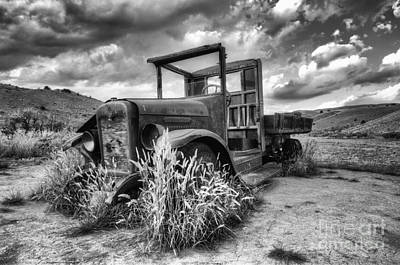 Bannack Ghost Town Photograph - Montana Hauler by Bob Christopher