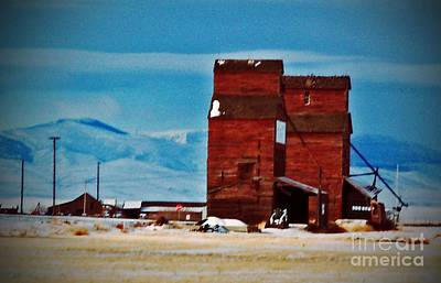 Photograph - Montana Mountaintown by Desiree Paquette
