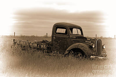Kim Fearheiley Photography - Montana Truck Two by David Arment