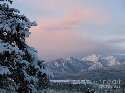 Art Print featuring the photograph Montana Winter by Joseph J Stevens