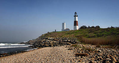 Beach Photograph - Montauk Lighthouse by Alida Thorpe