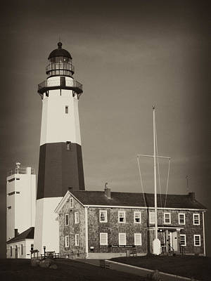 Photograph - Montauk Lighthouse by Maureen Cunningham