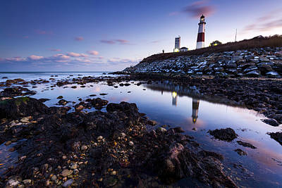 Montauk Point Lighthouse Photograph - Montauk Lighthouse Reflections by Ryan Moore