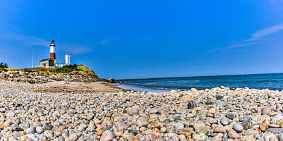 Montauk Point Lighthouse Photograph - Montauk Point Lighthouse by David Hahn