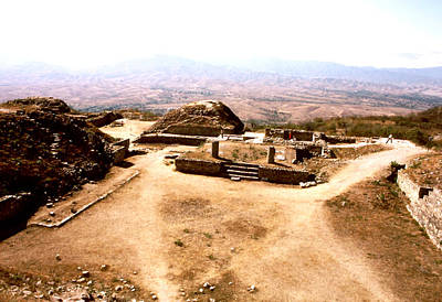 Photograph - Monte Alban - Oaxaca Valley by Robert  Rodvik