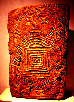 Photograph - Monte Alban - Tomb 7 Figure by Robert  Rodvik