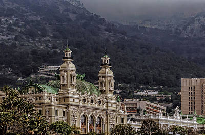 Photograph - Monte Carlo Casino by Maria Coulson