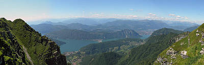 Photograph - Monte Generoso Panorama by Dragan Kudjerski