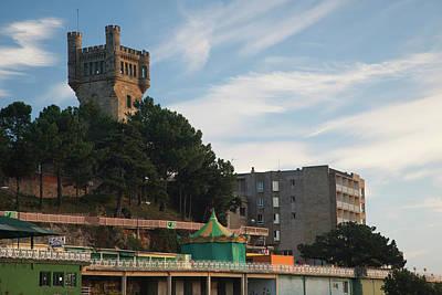 Pais Vasco Photograph - Monte Igueldo At Dawn, San Sebastian by Panoramic Images