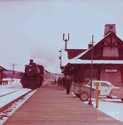 Photograph - Montebello Station by Vintage Photography