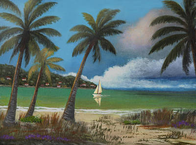 Stormy Weather Painting - Montego Bay by Gordon Beck