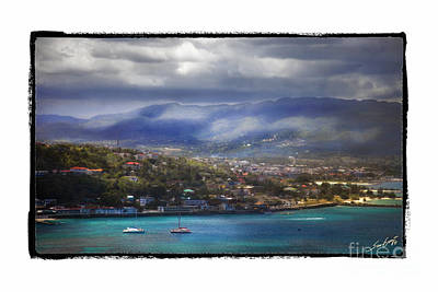 As Far As The Eye Can See Photograph - Montego Bay Jamaica by Sam Gray