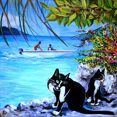 Montego Bay. Part One Art Print by Anna  Duyunova