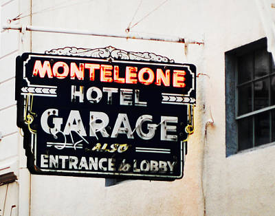 Photograph - Monteleone Hotel by Val Stone Creager