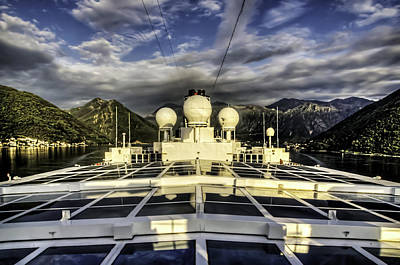 Photograph - Montenegro Cruise by Maria Coulson