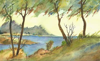 Monterey Cypress-carmel Original by David Patrick