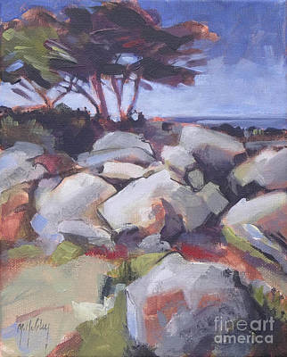 Monterey Cypress Original by Mary Hubley