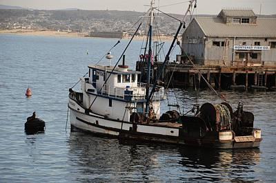 Trawler Digital Art - Monterey Fish Company by Barbara Snyder