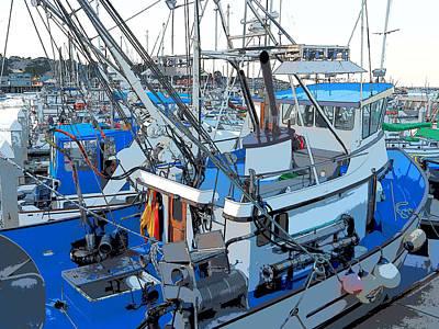Photograph - Monterey Fishing Boat by Derek Dean
