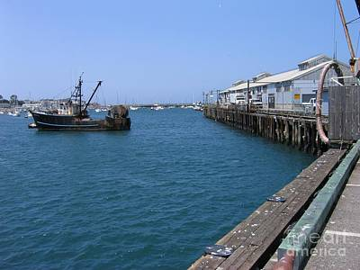 Photograph - Monterey Municipal Wharf by James B Toy