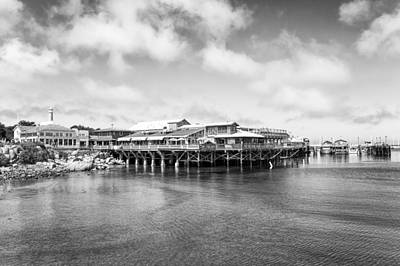 Fishing Photograph - Monterey Old Fisherman's Wharf by Priya Ghose