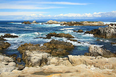 Photograph - Monterey Peninsula by Frank Townsley