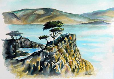 Monterey Pines Art Print