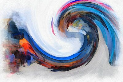 Monterey Wave Art Print by Barbara R MacPhail