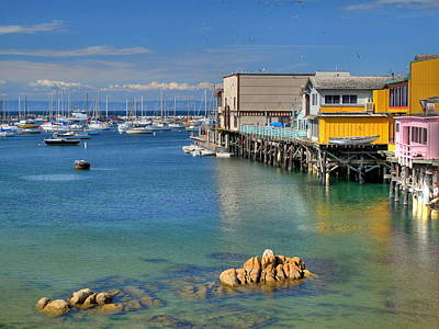 Photograph - Monterey Wharf 1 by Derek Dean