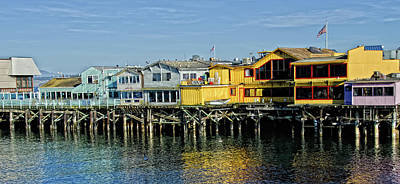 Photograph - Monterey Wharf by Ron White