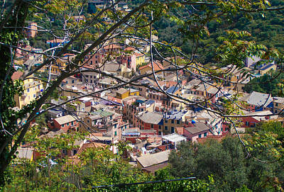 Photograph - Monterosso From Above - Cinque Terre by Dany Lison
