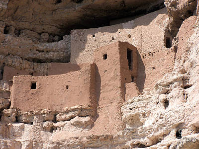 Art Print featuring the photograph Montezuma Castle 2 by Tom Doud
