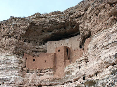 Art Print featuring the photograph Montezuma Castle 3 by Tom Doud