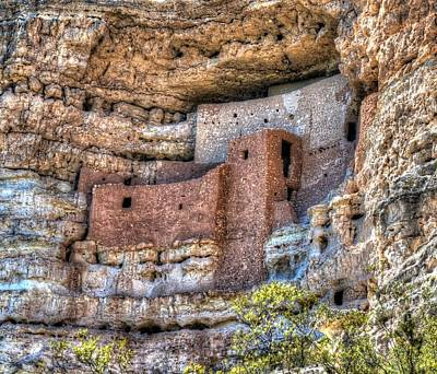 Photograph - Montezuma Castle by Mark Bowmer