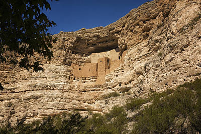 Photograph - Montezuma Castle National Monument Az Dsc09056 by Greg Kluempers